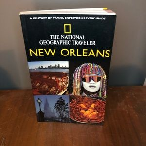 National Geographic New Orleans Travel Guide Book